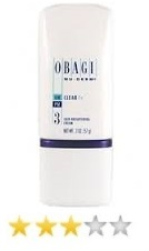 Obagi Nu Derm Clear Fx Skin Brightening Cream